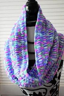 Stella Crocheted Cowl by Megan