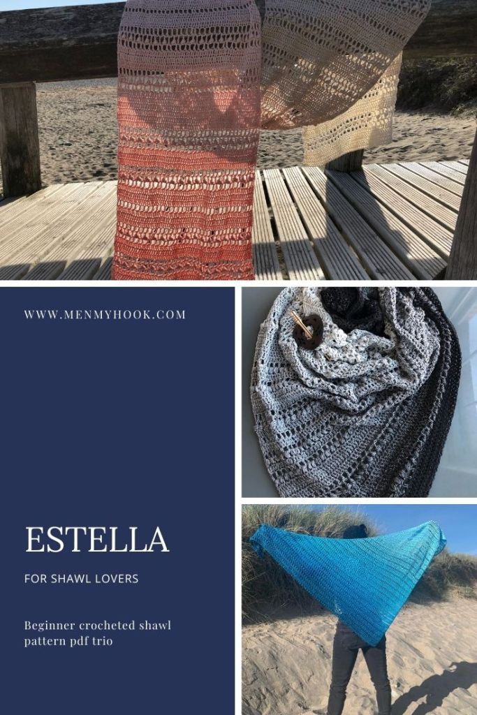 Estella Series - trio of crochet patterns