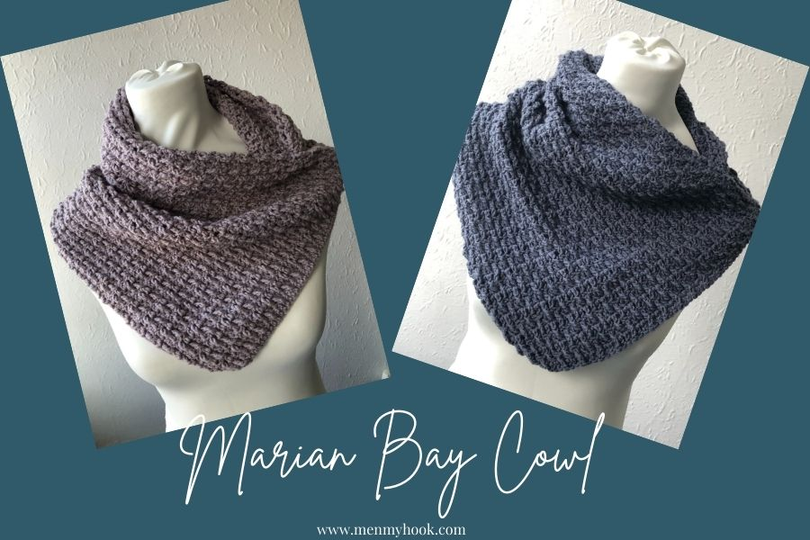 Beginner Textured Cowl duo pic