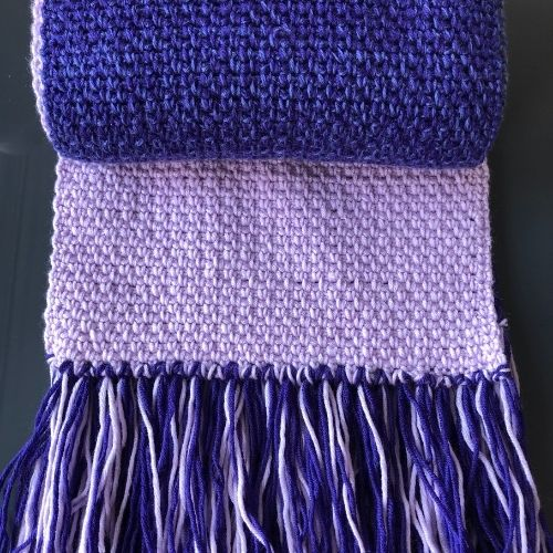 Easy Linen Stitch Scarf