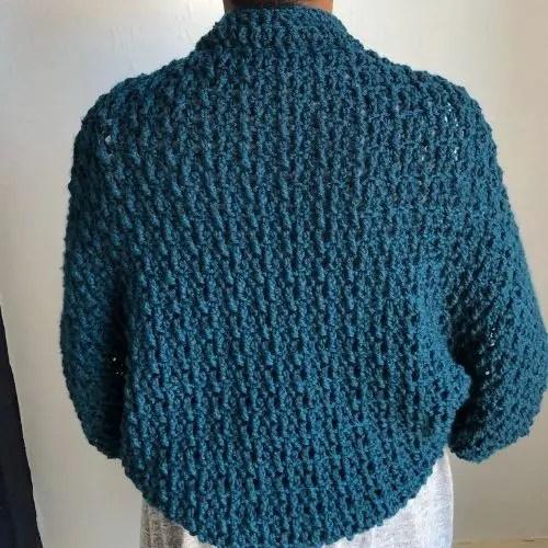 Easy textured cocoon cardigan – Marian Bay Cocoon
