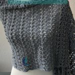 Crochet Rectangle Shawl Pattern - Joanne