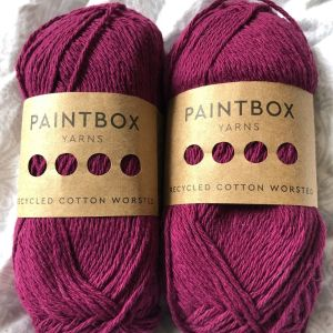 Paintbox Recycled Cotton Worsted Yarn Review