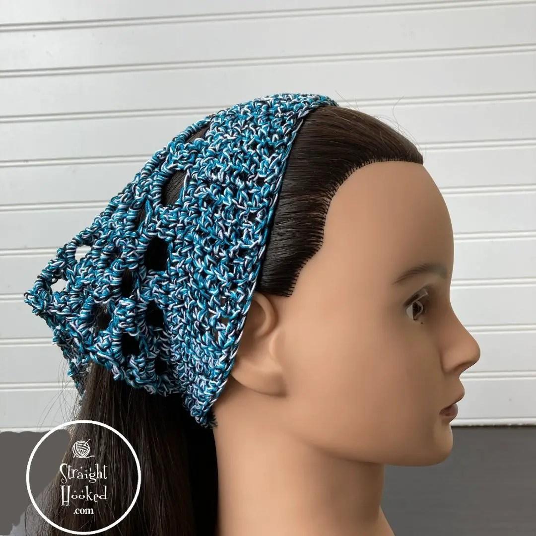 Free crochet headband pattern - happenin headband