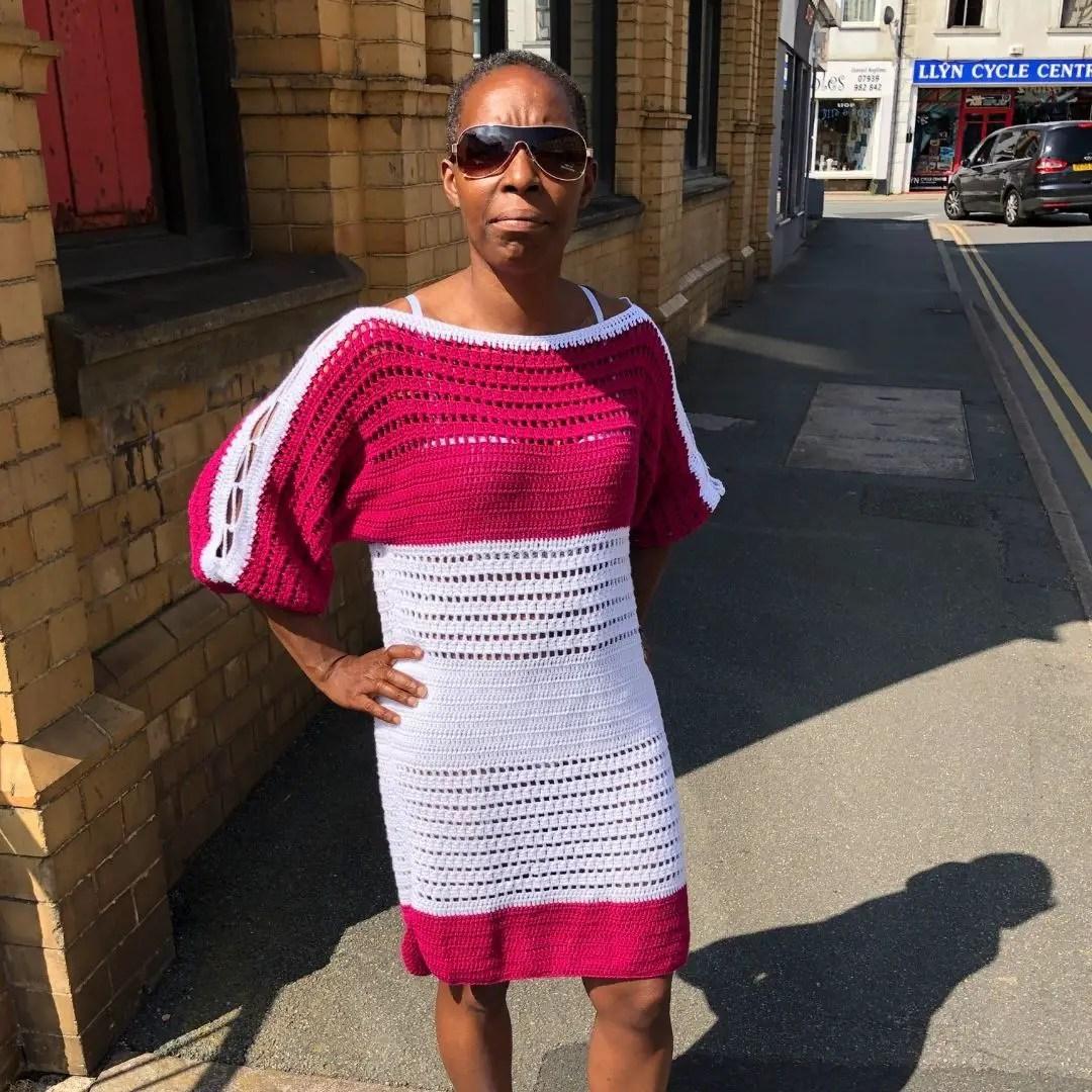 Easy beginner crochet dress pattern, Key West Summer Dress