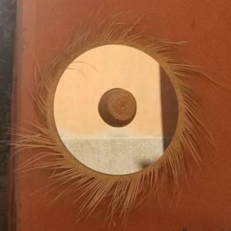 miroir osier rotin raphia palmier