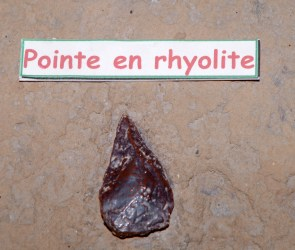 Håndkile fra Terra Amata, Nice, Frankrig. Ca. 350.000 år.