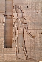 Relief fra Philae-templet.
