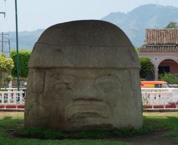 Olmec-hovede, Mexico.