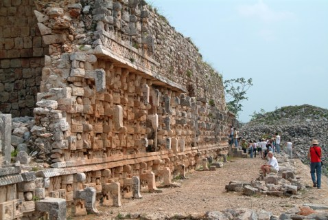 Maya-templet Kabá, Yucatan, Mexico.