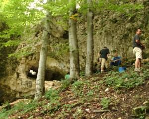 Antropologer ved hulen
