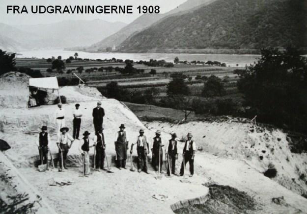 Udgravningerne i 1908