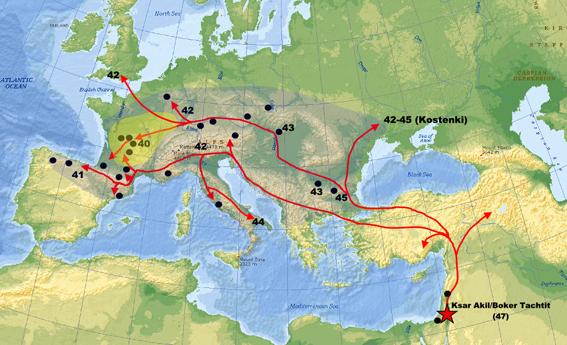 Homo sapiens' indvandring til Europa