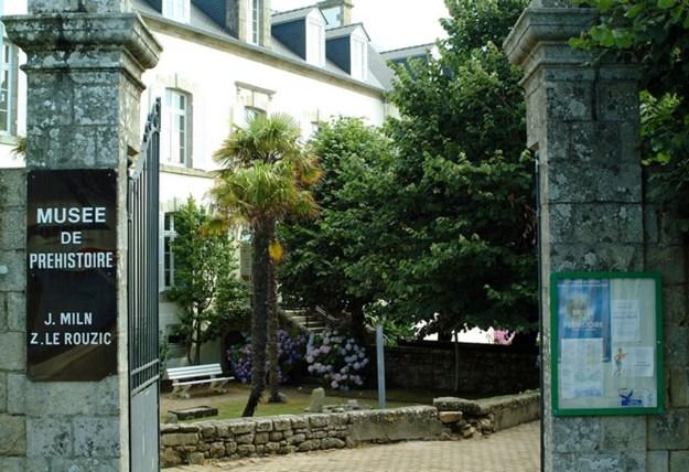 Det forhistoriske museum i Carnac