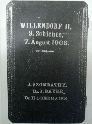Fra museet i Willendorf
