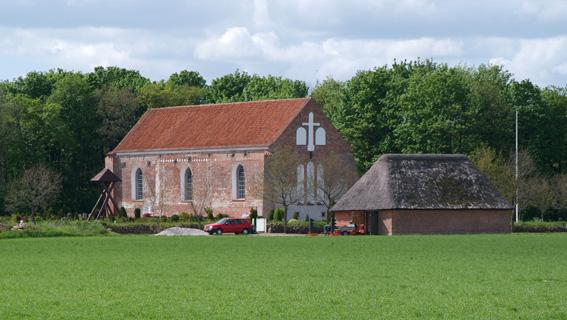 Tvilum klosterkirke nord for Svostrup