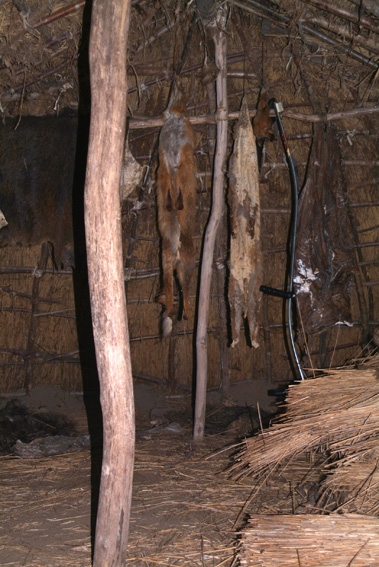 Det indre af en hytte