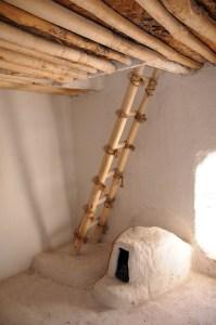 Et rekonstrueret hus,  Catal Hüyük