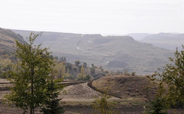 Kørevejen gennem Hatussa