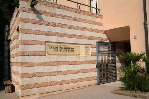 Det lille museum ved Grimaldi-hulerne