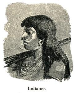 Indianer. Fra Geografi med Billeder