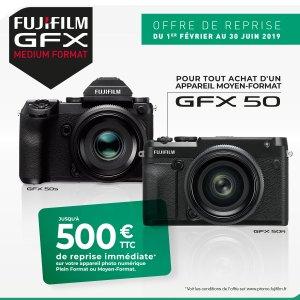 Fujifilm GFX - offre de reprise