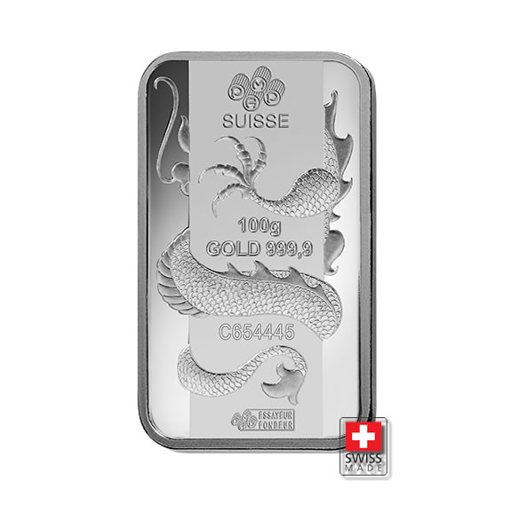 dragon sztabka srebra
