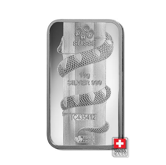 srebro 10 gram sztabki