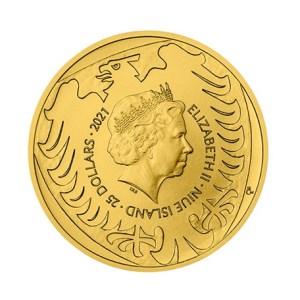 Czeski Lew zlota moneta