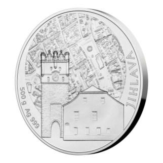 Moneta srebro 500 g