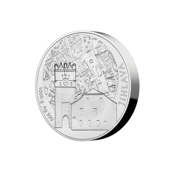 1 kg - moneta srebro