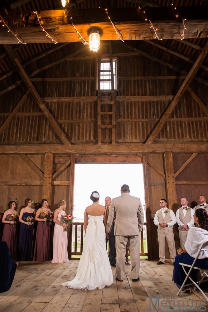Jennifer  Tim Wedding  The Links at Firestone Farms  RusticCountryBarn Wedding  Youngstown
