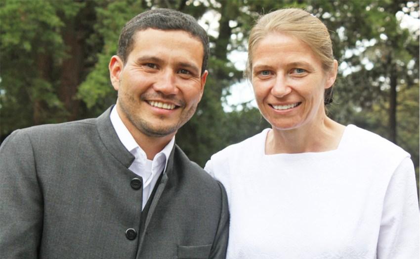 Juan Carlos Lemus and Waneda Erb were married on March 5.