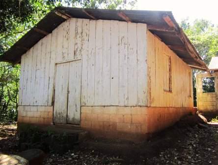 The chapel in La Pastoría. A children's