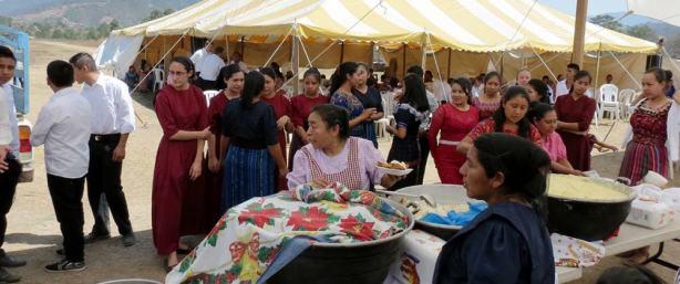Rubén and Tiana's wedding reception.