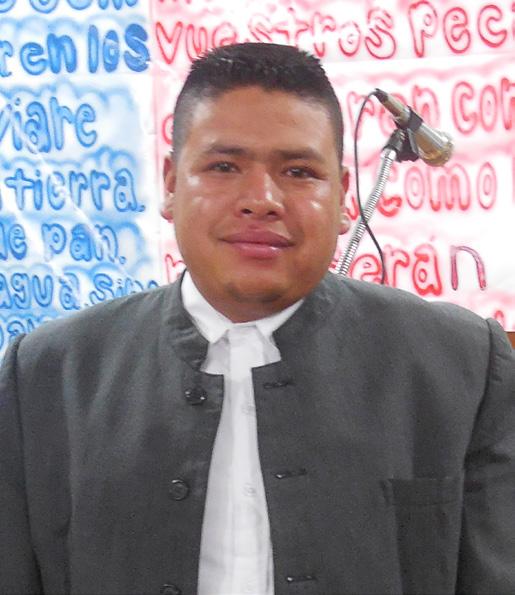Victor Hugo Alvarez was baptized in La Hierba Buena.