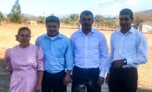 Three people were baptized and one received into fellowship in the Mixcolajá congregation.