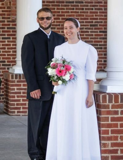 Nathan Graybill and Delores Schmidt were married on July 25 in Beavertown, Pennsylvania