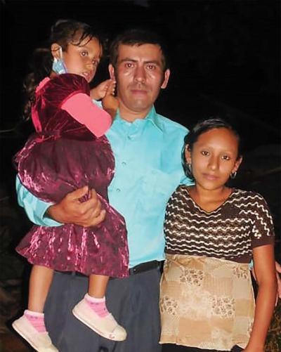 Raymundo Rosales was baptized in La Pastoria