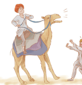 How to Regain Control of a Spooked Camel