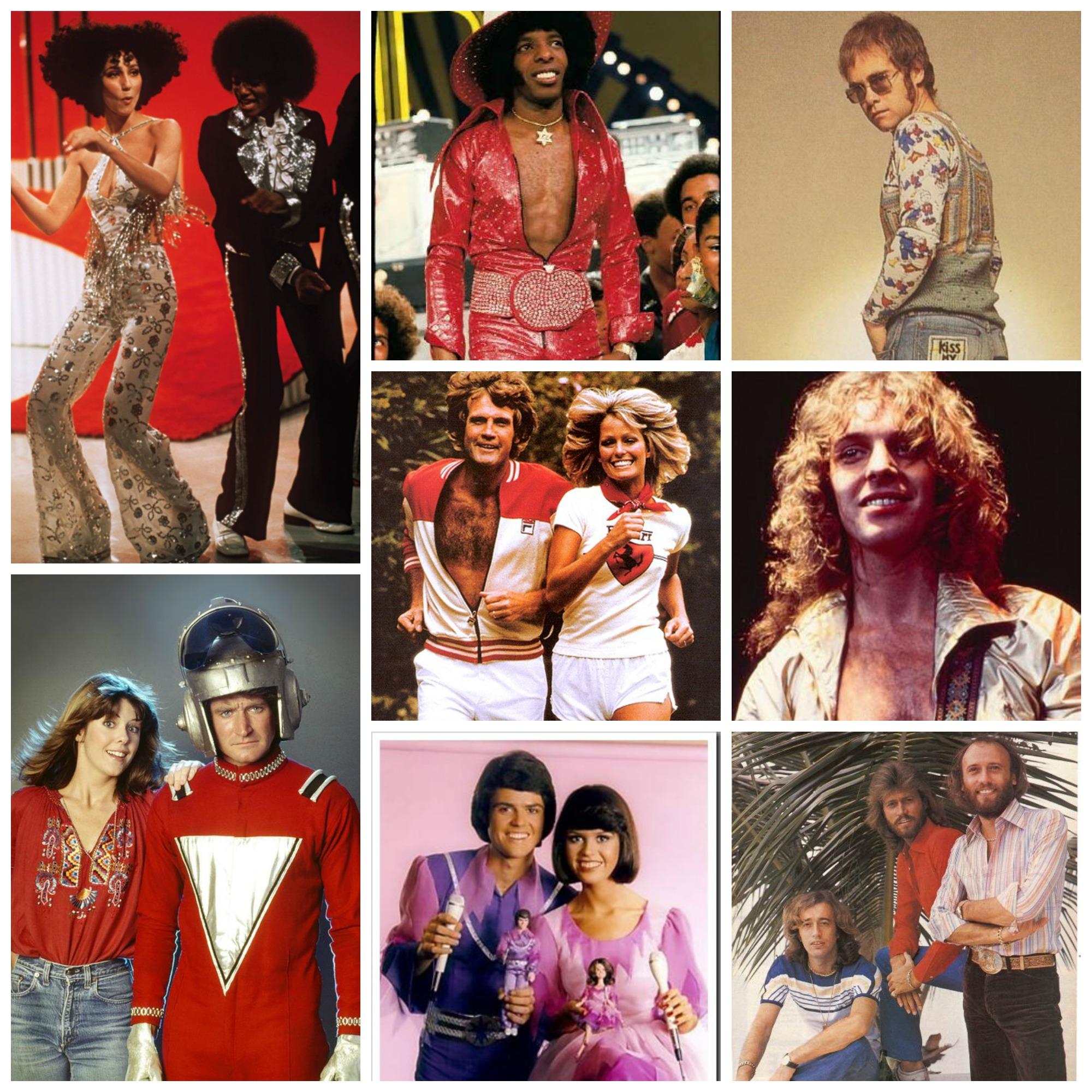 Cher & Michael Jackson, Sly Stone, Elton, Mork & Mindy, Lee Majors