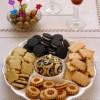 Surtido de galletas saladas para aperitivos