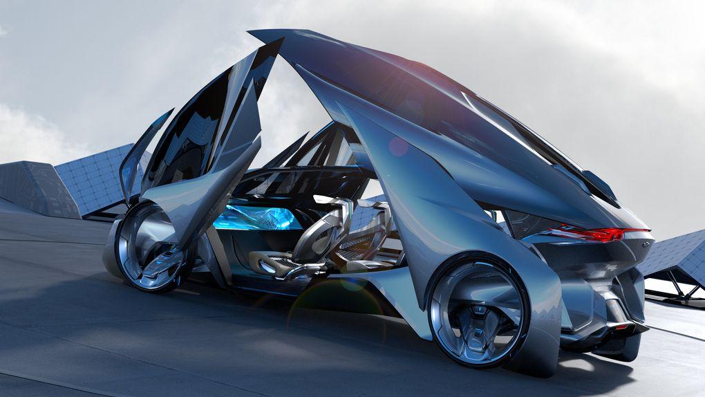 Chevrolet Fnr, A Proposta Para O Carro Do Futuro  Menos Fios