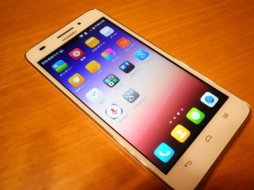Huawei Ascend G620sの外観