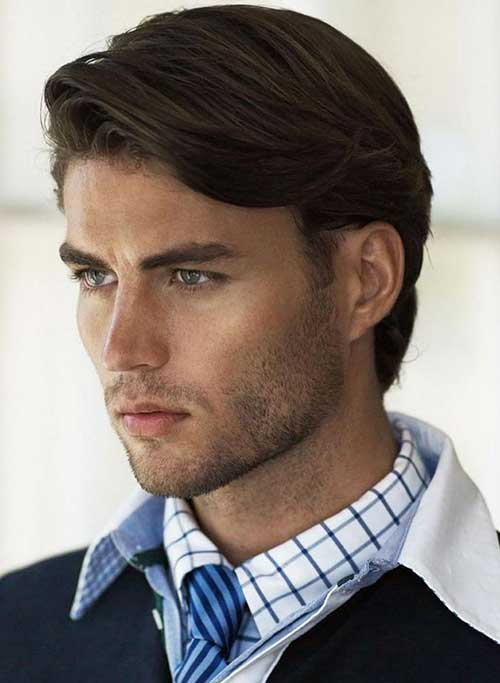 Male Haircuts For A Round Face Mens Medium Hair 2015 The Best Mens Hairstyles Haircuts