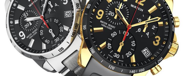 Men's watches and jewellery