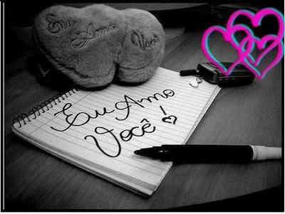 eu amo você meu amor de todo coração
