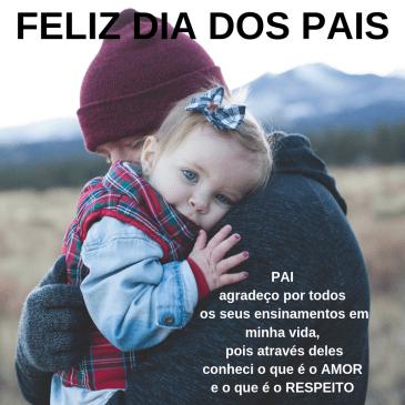mensagem feliz dia dos pais