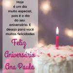 parabens ana paula - mensagem feliz aniversario Ana paula