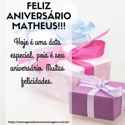 parabens matheus
